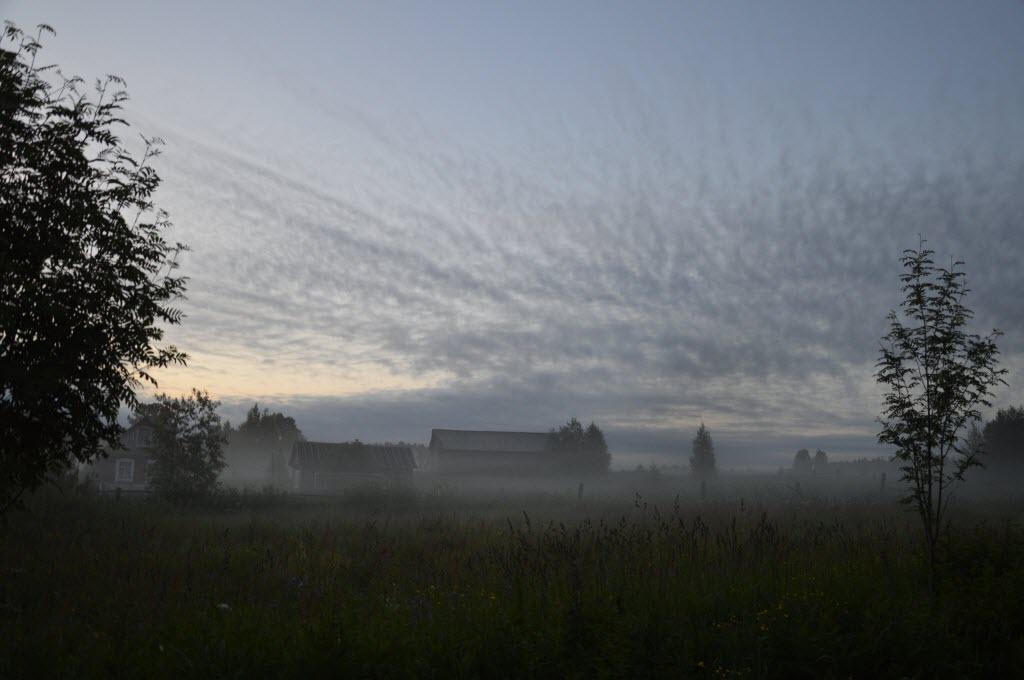 фото туманная ночь в россии чернобыльской